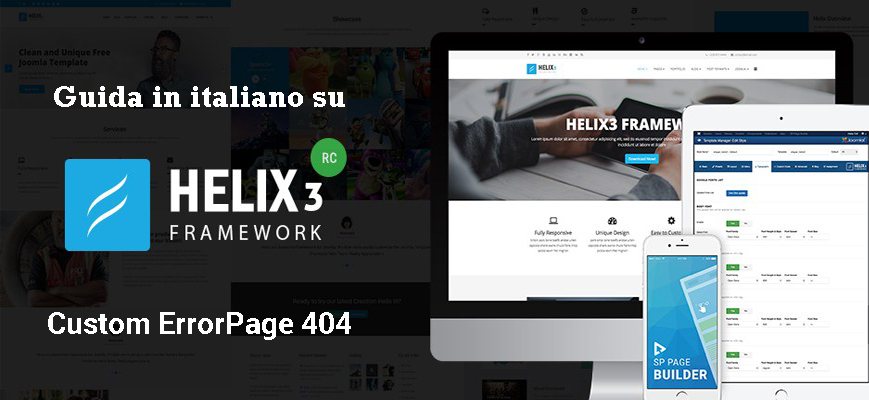 guida helix3 banner custom error page 404